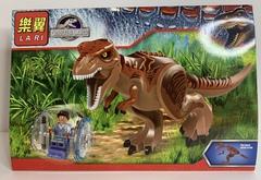 Мир Юркого периода 79151 Мир Динозавров Индоминус коричневый Рекс Конструктор
