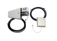 Двухдиапазонный усилитель сигнала 3G и 4G (2100 мГц/2600 мГц) с монитором - комплект