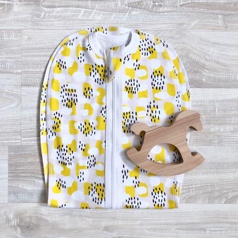 Пелёнка-кокон Mjölk Mustard Spots