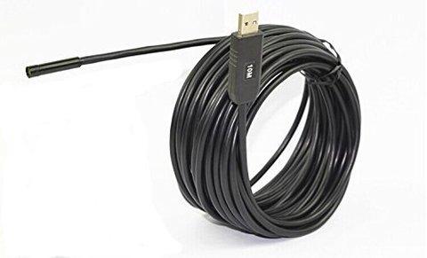 USB эндоскоп в гибком шланге с Камерой 10 метров