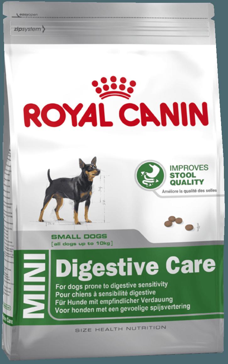 Сухой корм Корм для собак мелких пород с чувствительным пищеварением Royal Canin Mini Digestive Care l_mini-digestive-care.png