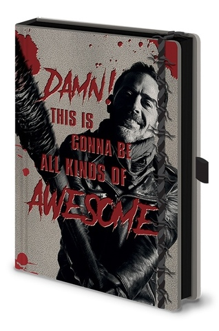 Записная книжка Negan The Walking Dead
