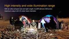 Кемпинговый фонарь Fenix CL25R (Черный, Оливковый)