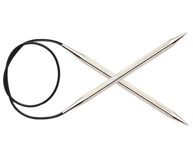 Спицы KnitPro Nova Cubics круговые 5 мм/80 см 12199