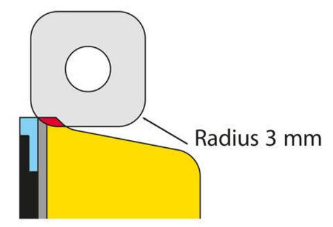 Картинка канторез Toko Sidewall Planer (рубанок АБС стенок)  - 2
