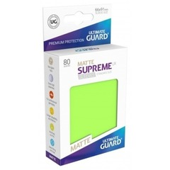 Supreme Sleeves Standard Size Matte Light Green(UX)
