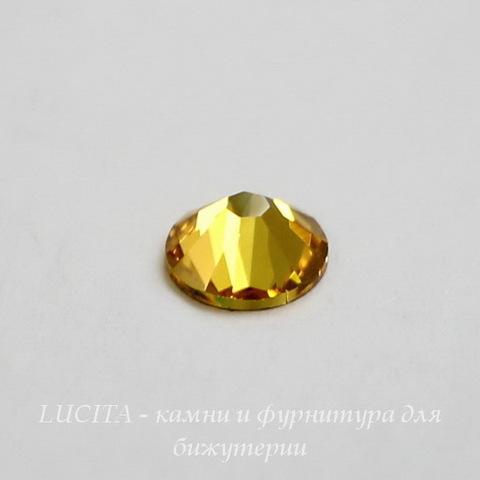 2058 Стразы Сваровски холодной фиксации Light Topaz ss30 (6,32-6,5 мм) ()