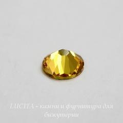 2058 Стразы Сваровски холодной фиксации Light Topaz ss30 (6,32-6,5 мм)