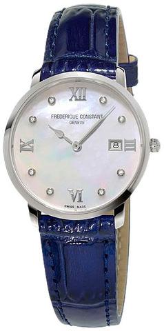 Часы женские Frederique Constant FC-220MPWD3S6 Slimline Ladies