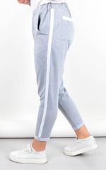 Янина. Спортивные штаны больших размеров. Серый.