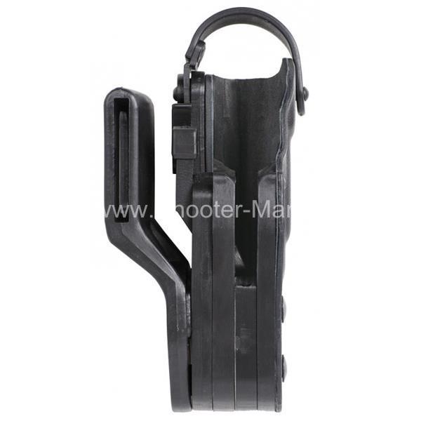 Кобура пластиковая автоматическая для пистолета Глок 17