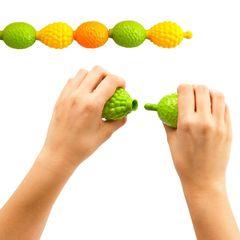 Развивающая игрушка Бусы фруктовые Edx education