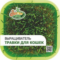 Выращиватель травы для кошек / проращиватель Здоровья клад + семена 10гр в подарок