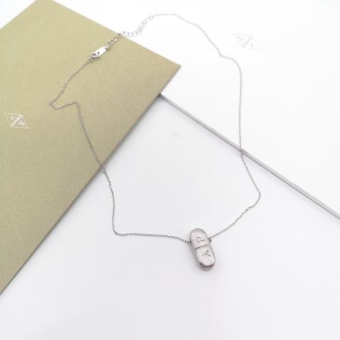 50122- Колье из серебра с подвеской A|P