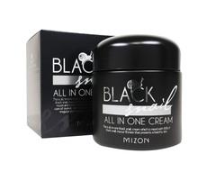 Крем для лица с экстрактом черной улитки MIZON Black Snail All In One Cream