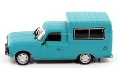 IZH-27156 blue-green 1:43 DeAgostini Auto Legends USSR Best #14