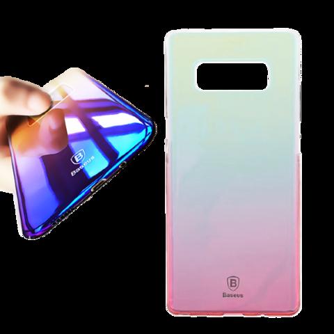 Чехол Baseus для Galaxy Note 8 серия Glaze | розовый
