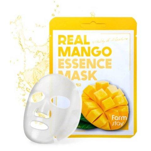 FarmStay Тканевая маска с экстрактом манго Real Mango 1 шт.