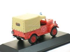 ARO M59 Pompiers de Tours red 1954 IST039 IST Models 1:43