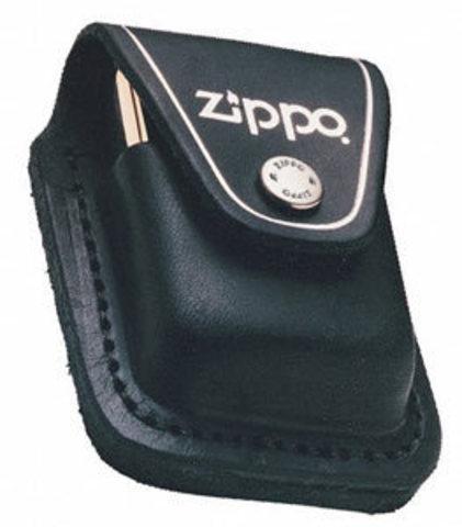 Чехол для зажигалки Zippo LPLBK, черный