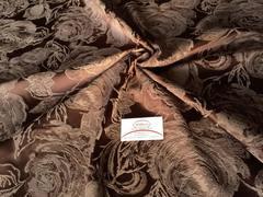 Жаккард Антик темно-коричневый