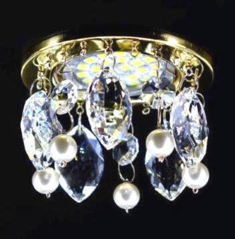 Встраиваемый светильник 3202-2RG Золото