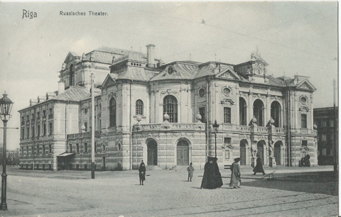 Riga - Russisches Theater