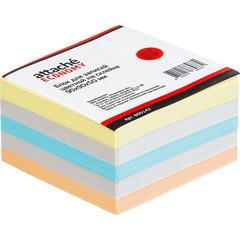 Блок для записей Attache Economy 90x90x50 мм разноцветный (плотность 65-80 г/кв.м)