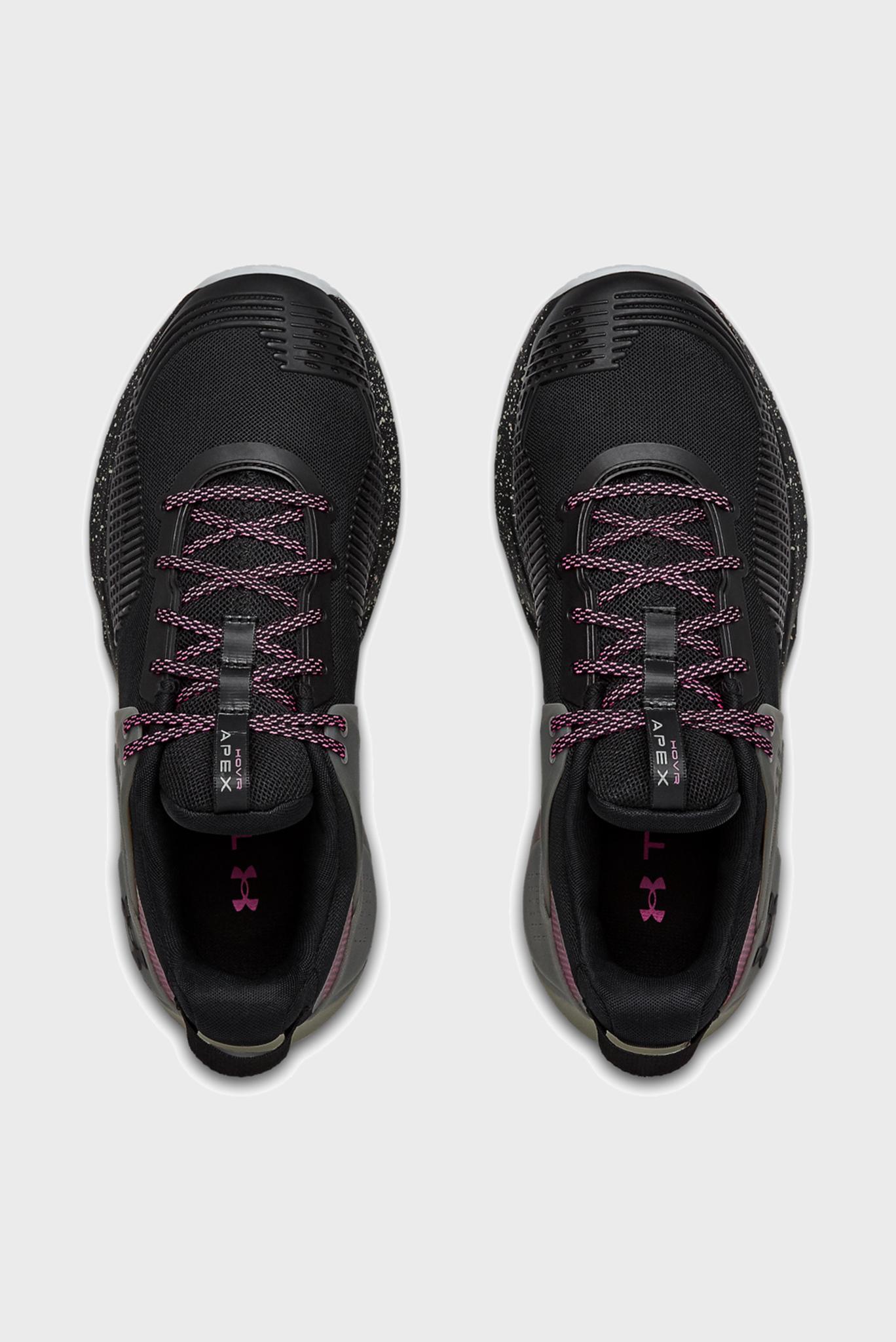 Мужские черные кроссовки UA HOVR Apex-BLK Under Armour