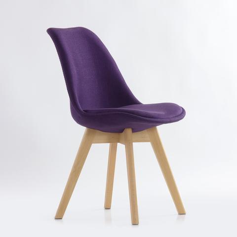 Интерьерный кухонный стул Sephi Eames / PP / Ткань