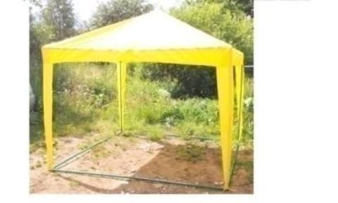Дачный шатер «Восточный» 2,6*2,6 ,  без сетки (цвета в ассортименте)