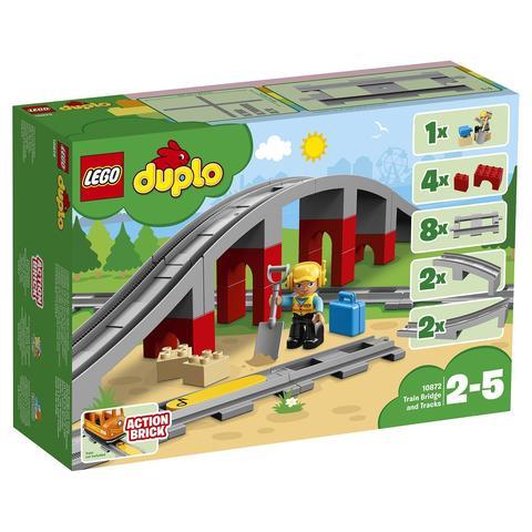 LEGO Duplo: Железнодорожный мост 10872 — Train Bridge — Лего Дупло