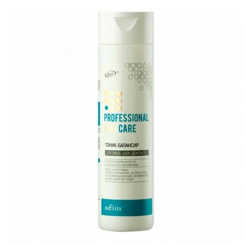 Тоник - балансир для лица, шеи, декольте с гиалуроновой кислотой, флорентийским ирисом и витаминами , 250 мл ( Professional Face Care )