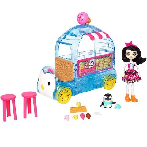 Фургончик с мороженым с пингвином Приной. Энчантималс