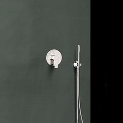 Встраиваемый смеситель для душа с душевым комплектом TITANIUM K1818011 на 1 выход