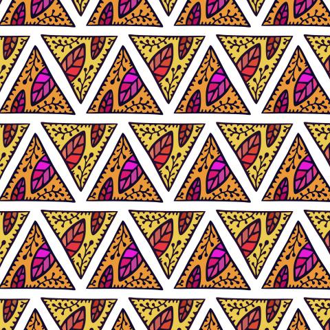 Треугольный орнамент