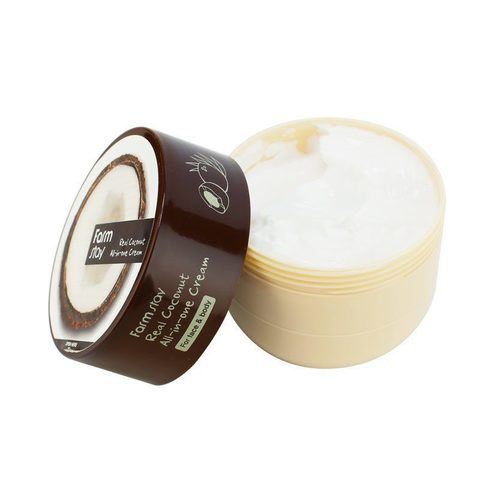 Крем для лица и тела с маслом кокоса FARMSTAY Real Coconut All-in-One Cream
