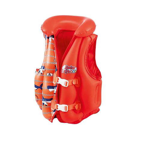 Жилет для плавания Bestway 32156 красный (51x46 см) / 25345