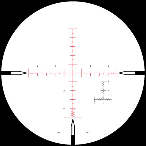 Оптический прицел NIGHTFORCE NXS™ 8-32×56 MIL-R™ (C530)