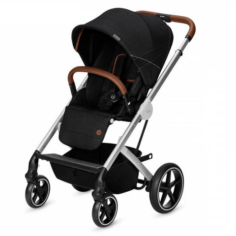 Прогулочная коляска Cybex Balios S Denim Collection Lavastone Black