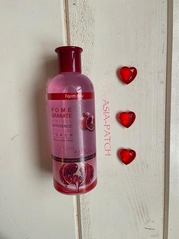 Увлажняющий тонер с экстрактом граната Farm Stay Visible Difference Moisture Toner Pomegranate, 350 мл