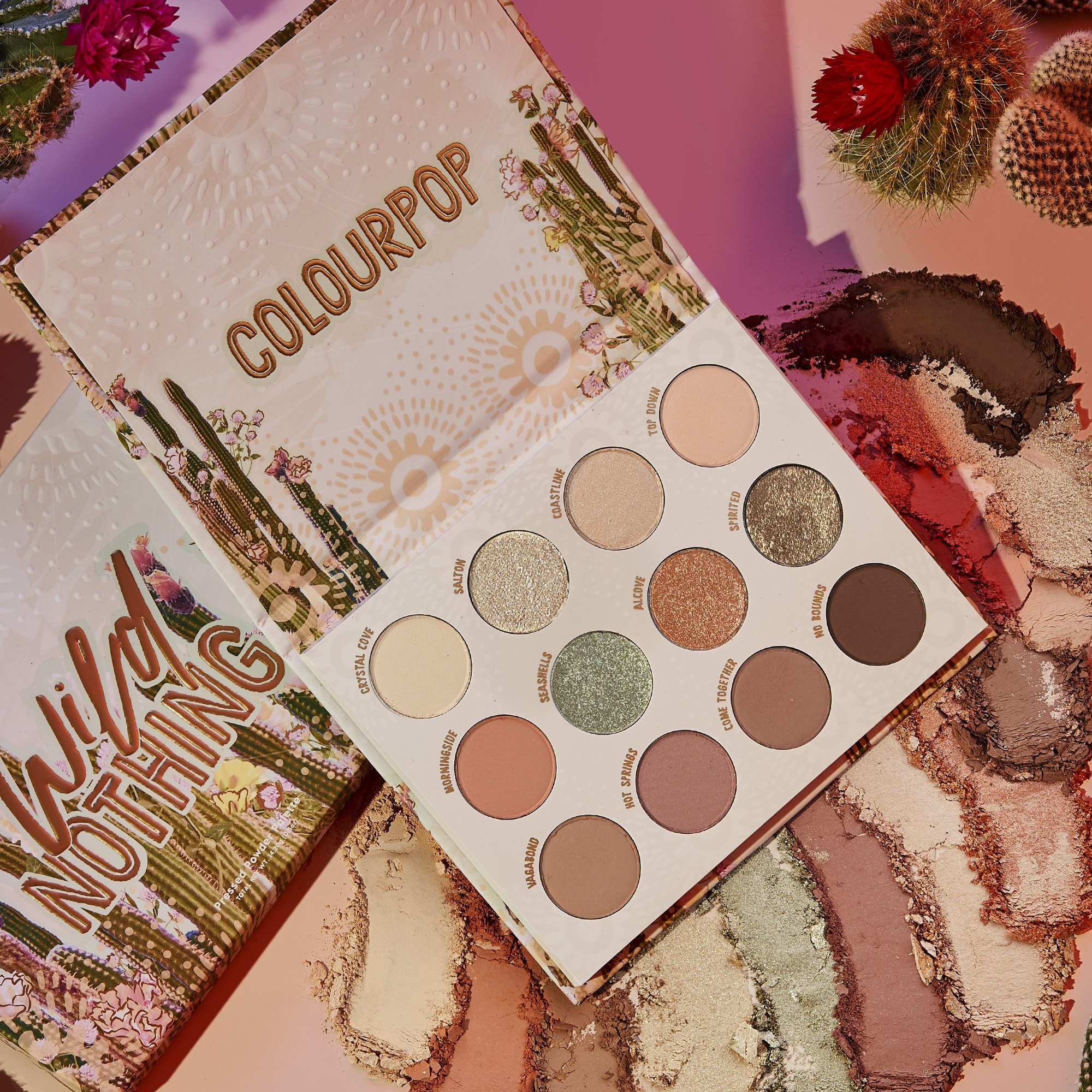 ColourPop Wild Nothing palette