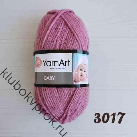 YARNART BABY 3017, Пыльный сиреневый
