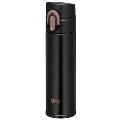 Термокружка Thermos JNI-401-MTBK суперлегкая (0,4 литра), черная