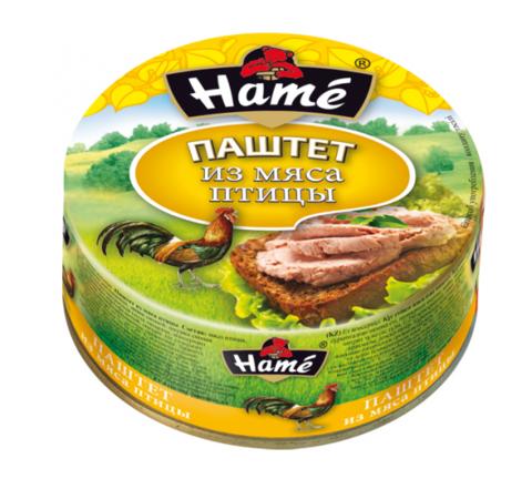 """Паштет """"Hame"""" из мяса птицы, 117 г"""