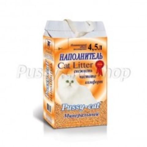 Пусси Кэт (Pussy Cat) минеральный 4,5 л