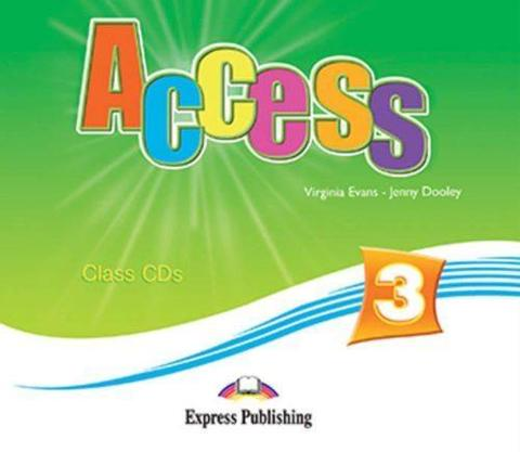 Access 3. Class CDs (set of 4). Pre-Intermediate. Аудио CD для работы в классе (4 шт.).