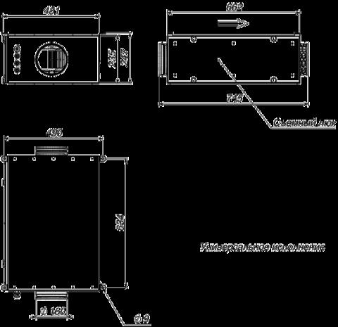 Приточная установка Breezart 550 Lux
