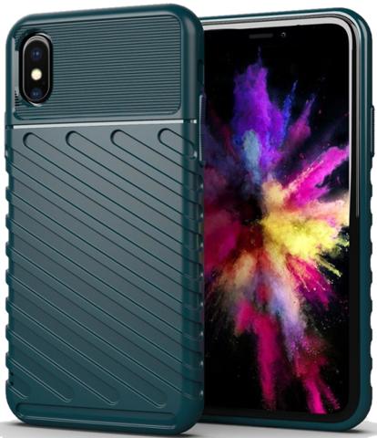Чехол для iPhone XS Max цвет Green (зеленый), серия Onyx от Caseport