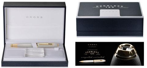 Cross Peerless 125 - Platinum ST, перьевая ручка, F, BL123